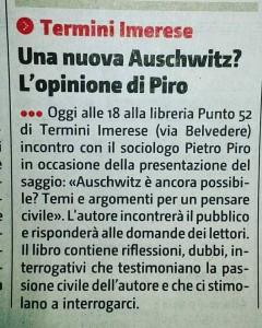 Presentazione Piro Termini Imerese - Nuova Sicilia
