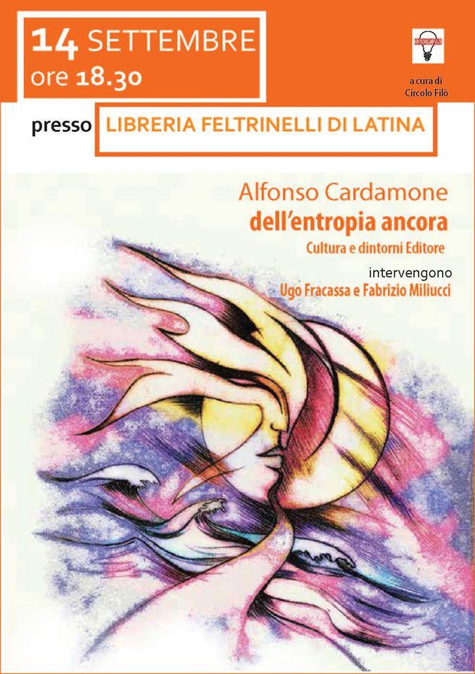 Alfonso Cardamone - dell'entropia ancora - Latina