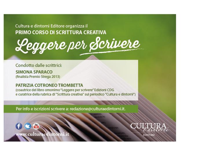Corso Scrittura Creativa Cultura e dintorni